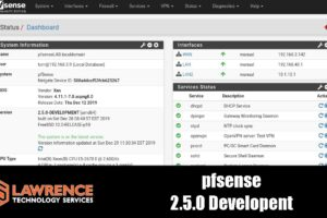pfsense 2.5.0 Beta New Features and Changes