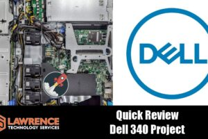 Dell PowerEdge 340 Server Project Running XCP-NG