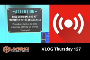 VLOG Thursday 157: Data Center Sleeping, Bitwarden, and Ask Me Anything