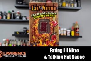 "Since Hitting 100K We Decided to Eat ""Lil' Nitro"" The World's Hottest Gummy Bear & Talk Some Sauce"