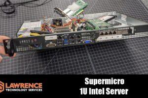 Quick Review of our Super Micro A1SRi-2758F 1u Intel Lab Server