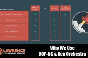 XCP-NG / Xen Orchestra VS Vmware and Why We Choose It For Our Clients