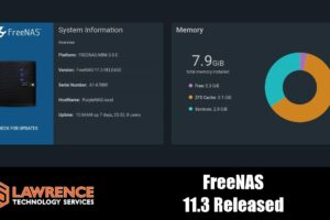 FreeNAS 11.3 Released and Update Overview
