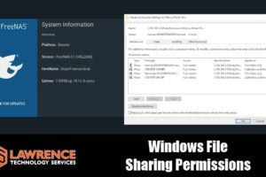FreeNAS 11.3 Windows Shares / File Sharing Permissions & ACL Configurations.