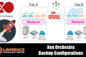 How to Configure Backups For XCP NG With Xen Orchestra