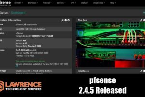 Now Available pfsense 2.4.5 Upgrade. New Features and Changes