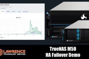 TrueNAS M50 High-Availability (HA) Storage Fail Over Demo
