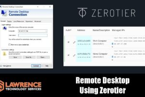 How To Work Remotely Using Zerotier & Windows Remote Desktop (RDP)