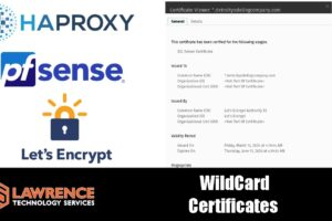 How To Create pfsense Let's Encrypt Wildcard Certificates using HAProxy