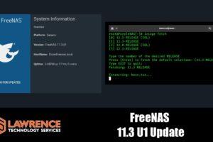 FreeNAS 11.3-U1 Update and Jails