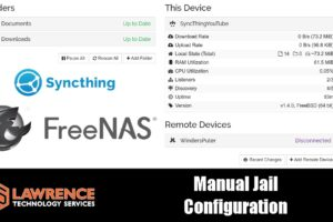 Manual Jail Setup Tutorial For Syncthing on FreeNAS 11.3