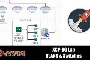Configuring XCP-NG VLANs using pfsense, UniFi, & MikroTik Switches