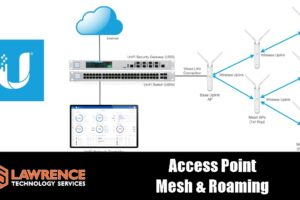 Ubiquiti UniFi Configuring Wireless Uplinks For Mesh Networking and Roaming Between Them.