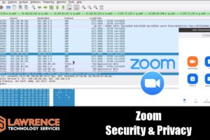 Looking at Zoom Security with Wireshark and Talking Zoom Privacy
