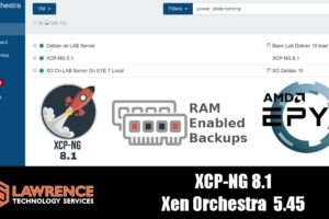 XCP-ng 8.1 & Xen Orchestra 5.45 Are Available With Lots of New Features!