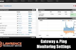 Configuring Ping & Gateway Monitoring & Logging in pfsense