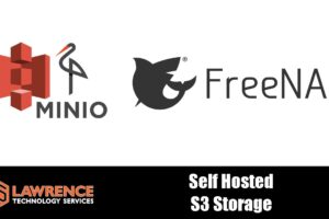 Self Hosted S3 Object Storage On FreeNAS With Minio