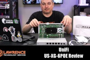 Ubiquiti UniFi US‑XG‑6POE  10GB POE Switch Review
