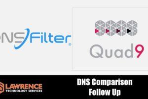 DNS Filtering Followup: DNSFilter Blog Post & Quad9