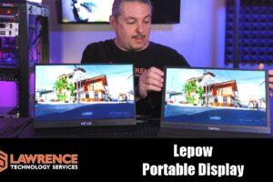 LePow VS Auzai 15.6″ Type-C 1080p IPS Portable Monitor Review / Comparison