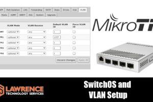 The Mikrotik SwOS and VLAN Configuration
