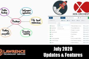 XCP-NG & Xen Orchestra Updates & Features July 2020