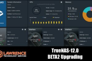 Upgrading FreeNAS to TrueNAS Core Beta2 and Discussing New ZFS Features & Performance