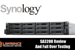 Synology Dual Controller SAS NAS SA3200D Server Review & Fail Over Testing