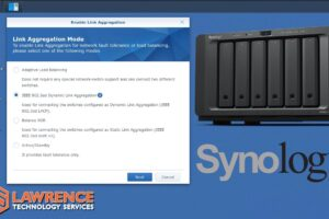 Synology LAGG LACP