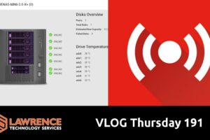 VLOG Thursday 191:UniFi Update 6.0.22, TrueNAS 12 RC1, Business, and Errata