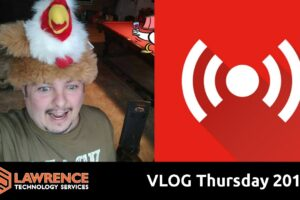 VLOG Thursday 201 UniFi, Thanksgiving, AMA, Business Talk and Errata